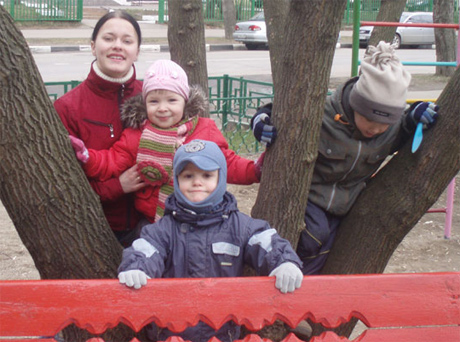 домашний детский садик Ладушка
