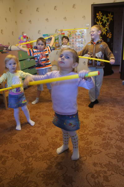 занятия в детском саду по знакомству с театром