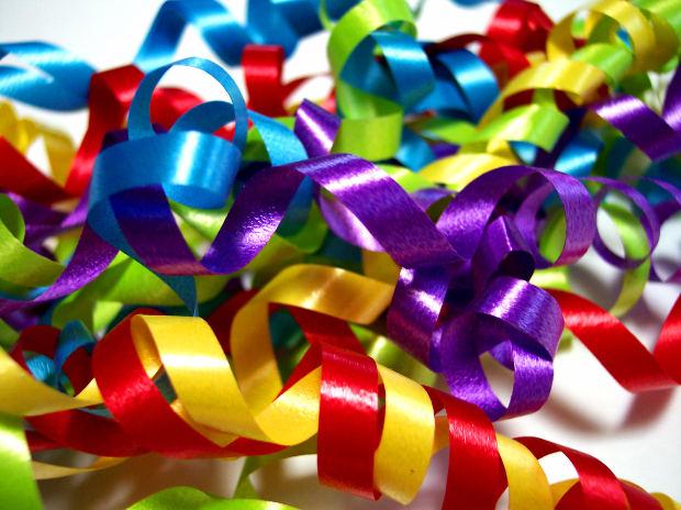 Серпантин поздравлений на день рождения 381
