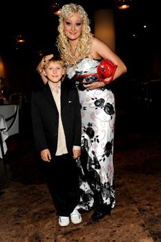 Дарья Миронова с сыном