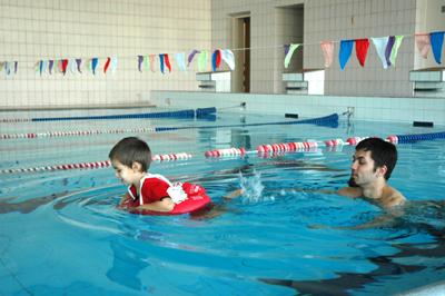 детский круг для плавания swimtrainer
