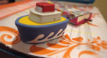 кораблик, игрушка, детский сад