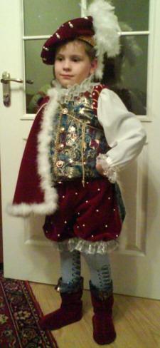 Новогодние костюмы своими руками для мальчиков 1