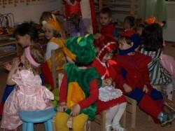 """Новогодний утренник в детском саду """"Цветик-Семицветик"""""""