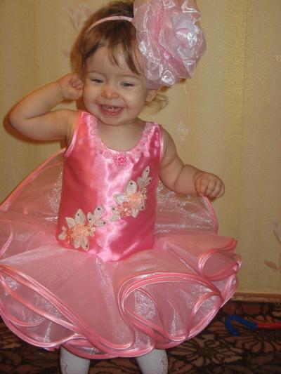 Выпускное платье в детский сад своими руками