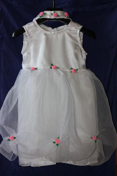 как украсить детское платье своими рукам