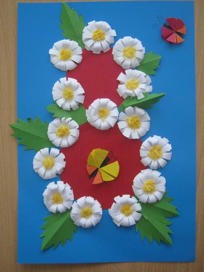 Детские картинки бабочки цветочки