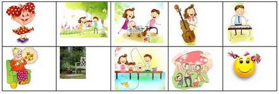 Схема пересказа в детском саду