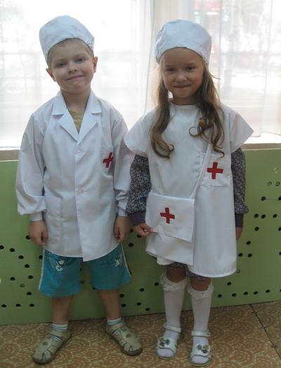 Детские костюмы по профессиям