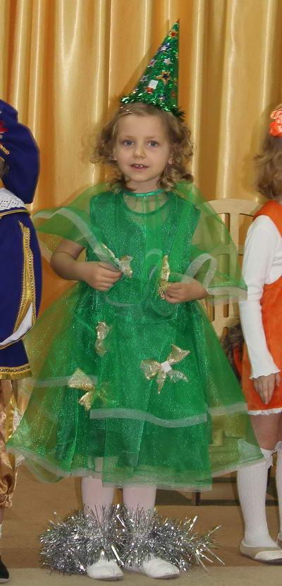 Детский новогодний костюм Елочки