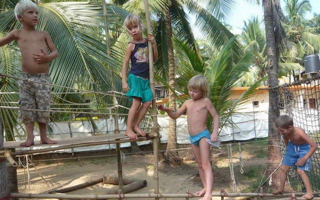 Детский сад на Гоа