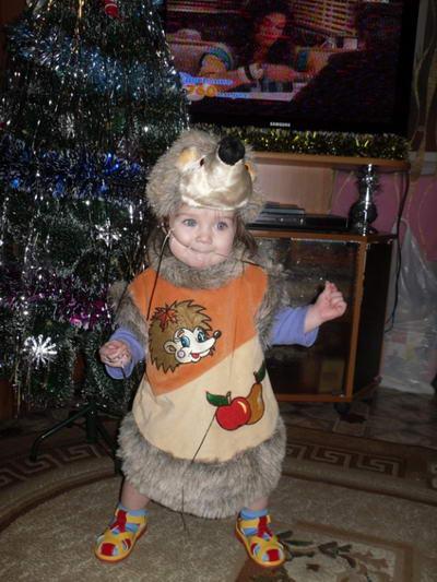 Детский новогодний костюм Ежика