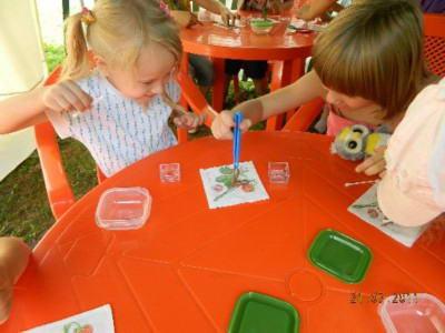 Опыты в детском саду