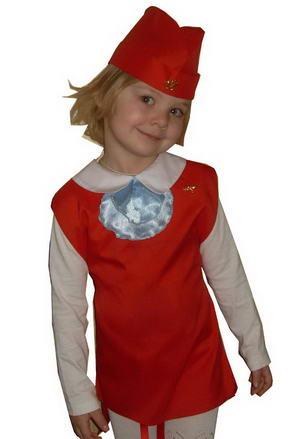 Детский костюм СТЮАРДЕССА