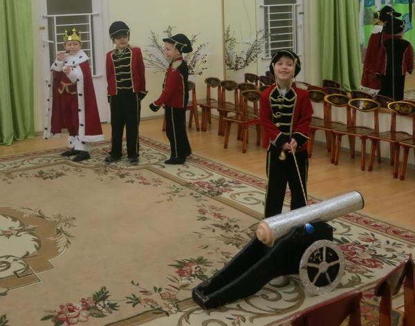 мюзикл в детском саду
