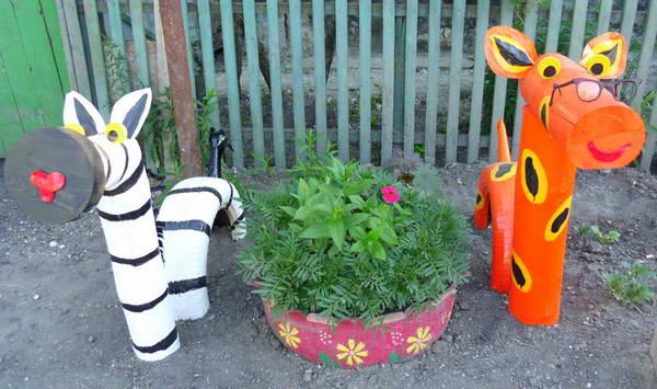 оформление детского сада летом