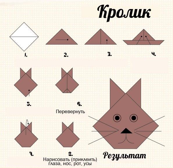 Оригами оформление