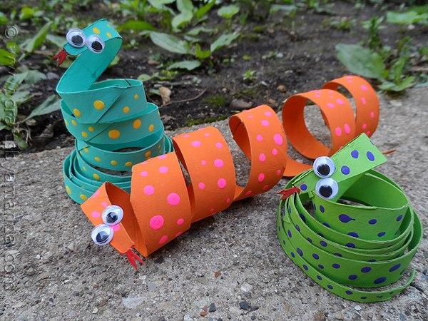 бумажные змейки