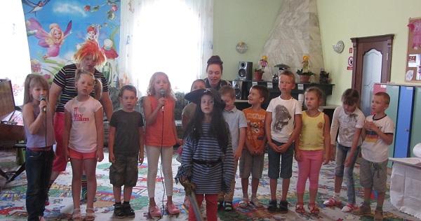 лето в детском саду