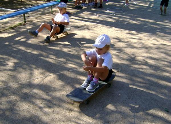 физкультурные занятия в детском саду