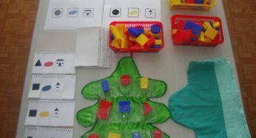 Развитие логико-математического мышления. Игры с блоками Дьенеша