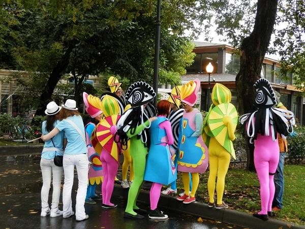 Карнавал в Парке Горького