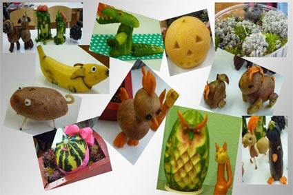 Поделки для выставки урожай