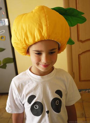 детская шапочка репки