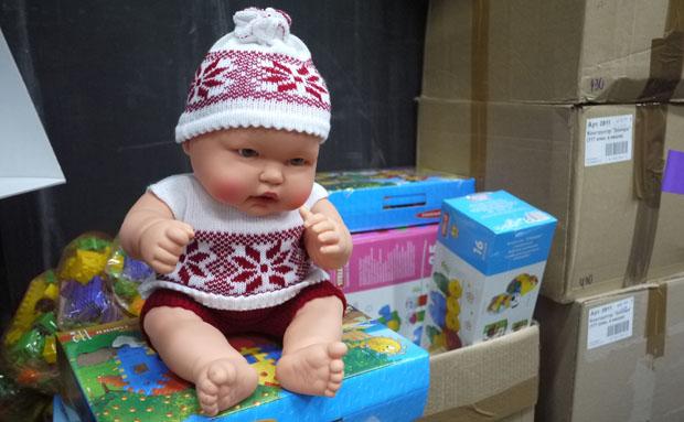 подарки детям на новый год, кукла