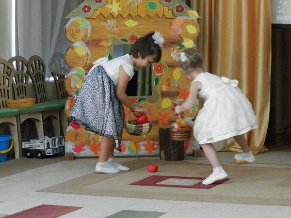 Праздник осени в детском саду прошел