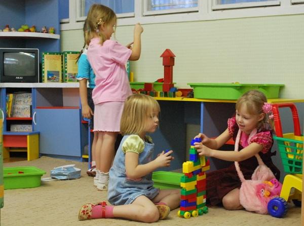 прическа в детский сад