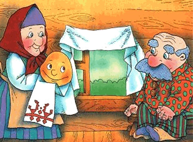 Переделанную Сказку О Колобке На Новогоднюю