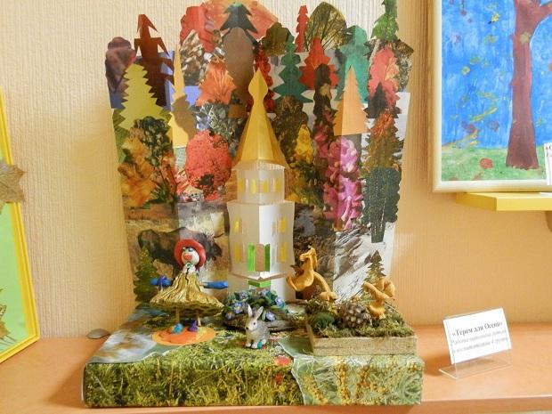 Уголок осени в детском саду. Примеры