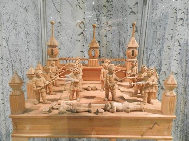 Деревянная механическая игрушка своими руками
