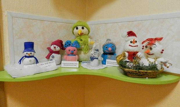 Поделки для ребенка в детский сад на тему новый год своими руками