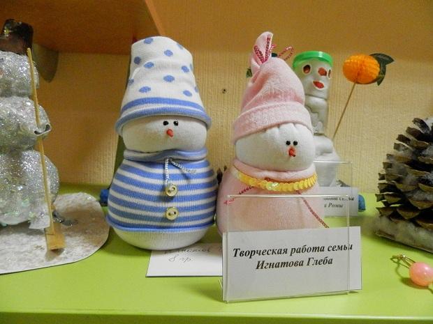Поделки снеговик своими руками для детского сада