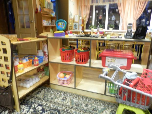 уголки в детском саду - фото