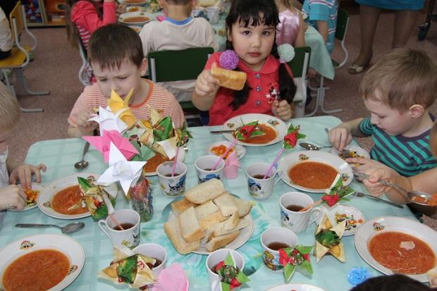питание в детском саду