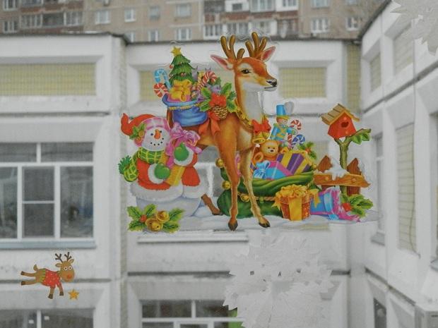 занятия в детском саду зимой