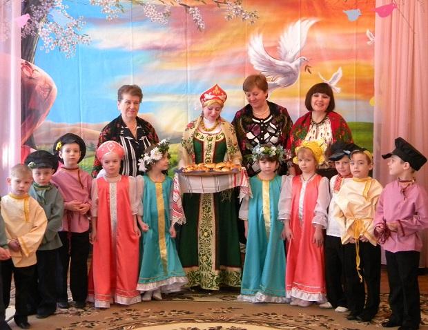 народный праздник в детском саду