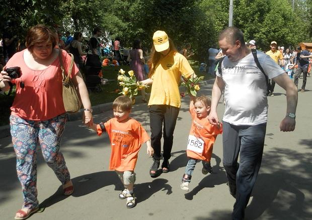 детский марафон Беги и Кричи