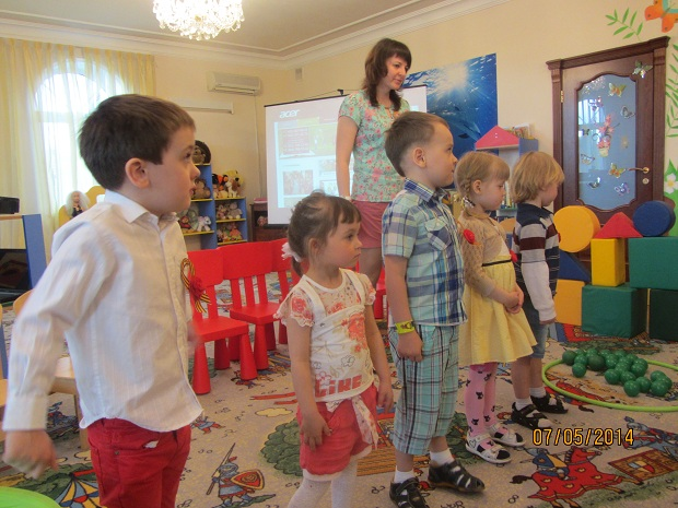 День Победы в детском саду