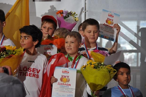 Всемирные детские игры победителей