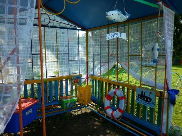игровые участки детского сада