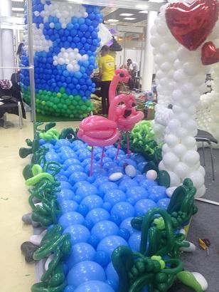 выставка воздушных шаров