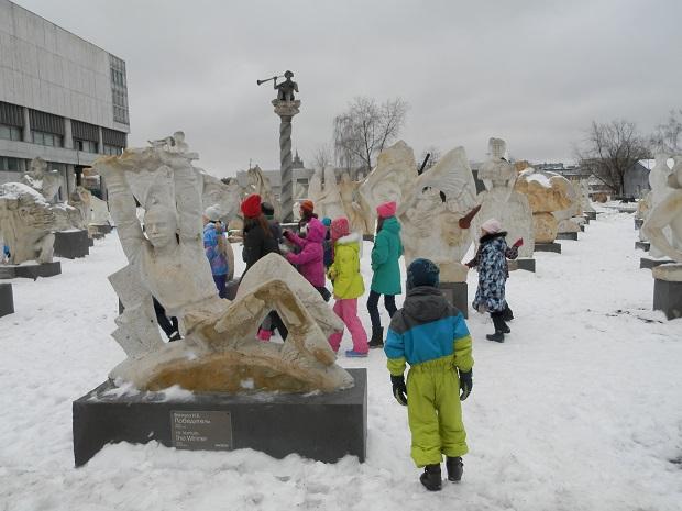 скульптур