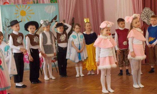8 марта в детском саду