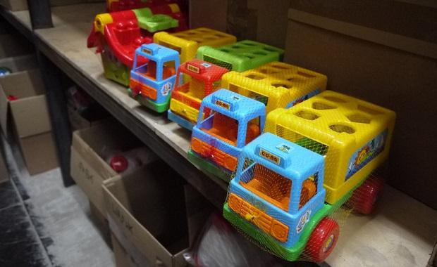 В магазине игрушек детский сад