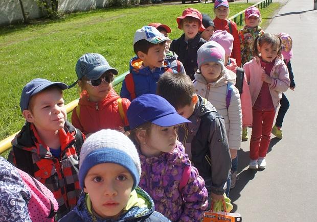 поход в детском саду
