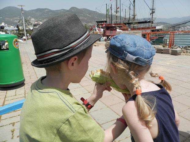 в турцию с детьми